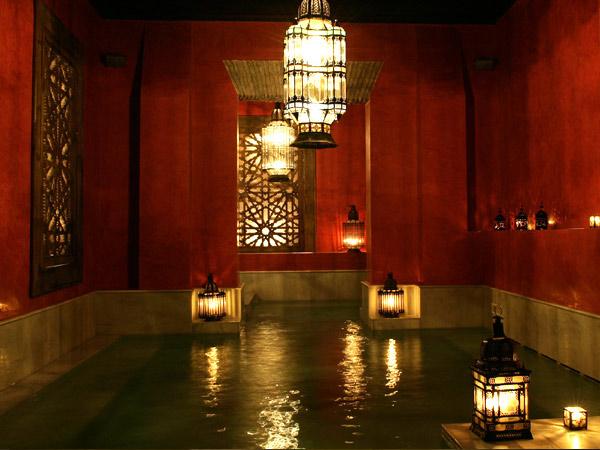 Baños Romanos Andalucia:Arab Baths Seville Spain