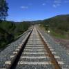 Vias del tren hacia Cazalla de la Sierra