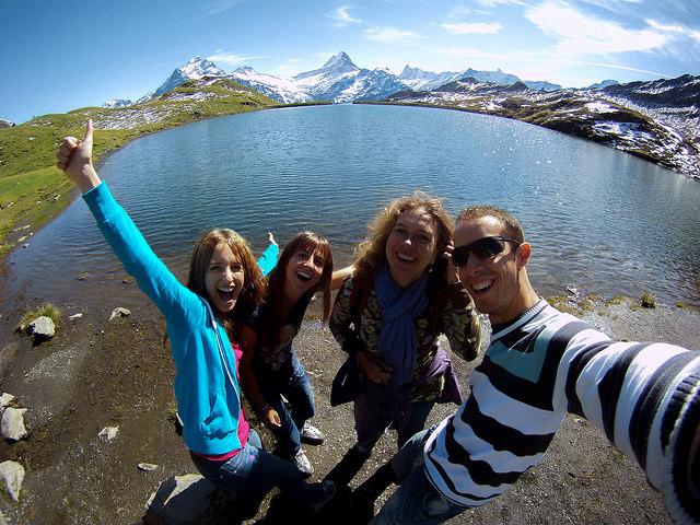Diario de un Mentiroso en el Lago Bachalpsee, el lago más bonito de Suiza