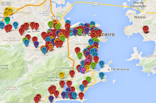 Asaltos en Rio de Janeiro que hacen obligatorio llevar un seguro de viaje para Brasil